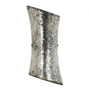 Marconi Chrome Mirror Mosaic Wall Light - ENDON MARCONI-2WBCH